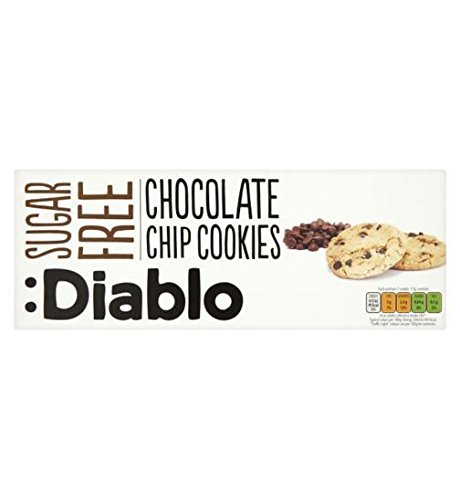 Diablo Chocolate Chip Cookies 130g