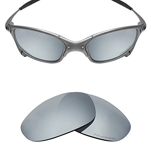 826a1d57eb Mryok+ Polarized Replacement Lenses for Oakley Juliet - Silver Titanium - Buy  Online in Oman.