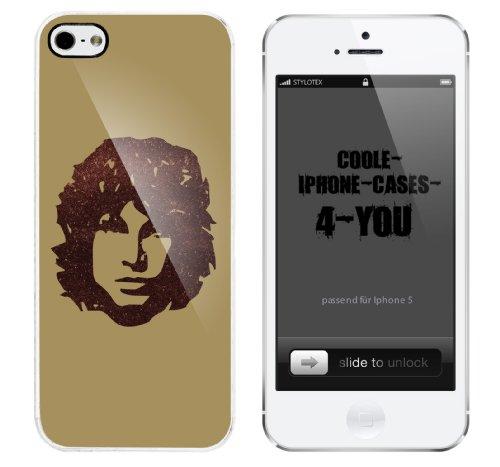Iphone 5 Case Hippie Man Rahmen weiss