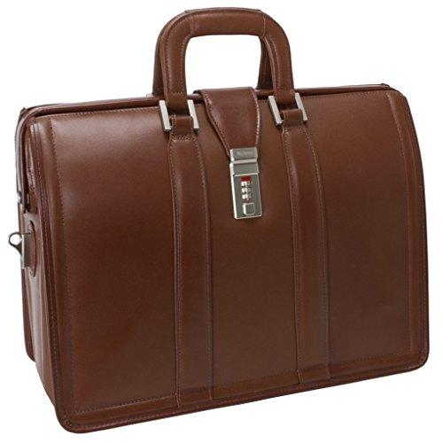 McKleinUSA MORGAN 83344 Brown 17 Litigator Laptop Brief (Brown Computer Brief)