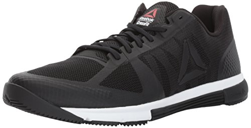 Reebok Men's CROSSFIT Speed TR 2.0 Cross-Trainer Shoe, Black/White/Primal Red, 9.5 M US