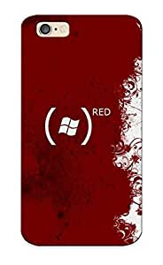 Catenaryoi Red Windows Logo / Fashionable Case For Ipod Touch 4 Cover