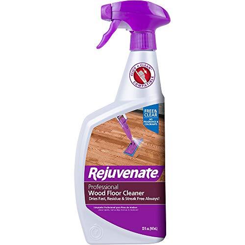 Rejuvenate RJFC32PRO Hardwood Floor Cleaner, 32 oz, Clear