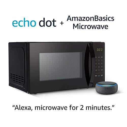 AmazonBasics Microwave with Echo Do