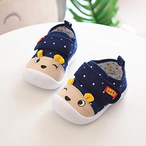 Filles Chaussures Bleu Garçons Bébé Imjono Bébé Foncé Infantile Semelle Appelé Cartoon De Souple Sneakers Sneaky Antidérapantes YRBwqRg