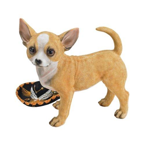 (Design Toscano Fernando the Chihuahua Sculpture)