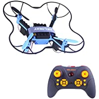 DIY Drone Building Blocks RC Quadcopter 2.4GHz Remote Control Quadcopter with Night Light Assembly 4-asix 902 Aircraft Helicopter
