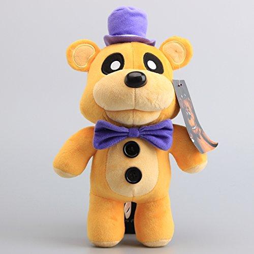 Five Nights At Freddy's Fazbear Bear Golden 12 Inch Toddler Stuffed Plush Kids Toys FNAF