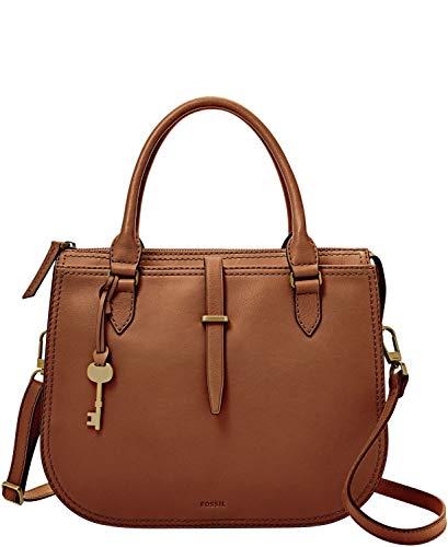 Fossil Women's Ryder Leather Satchel Purse Handbag 2