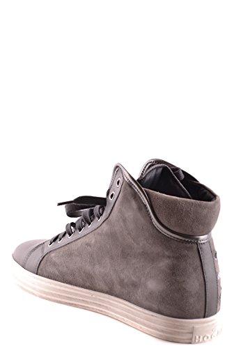 Hogan Hi Top Sneakers Donna MCBI148251O Camoscio Grigio