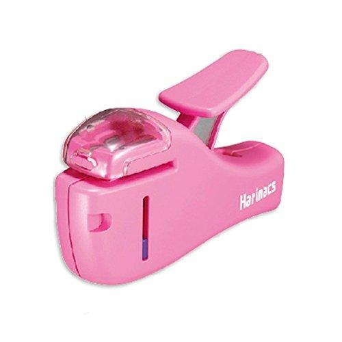 Mini Desktop Stapler Manual Stapler Office/Home Stapler/Pink (Electric Booklet Stapler)
