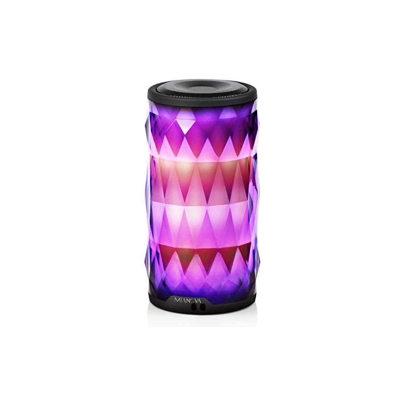 LED Bluetooth Speaker,Night Light Changi
