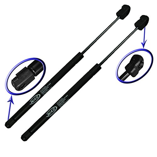 Two Front Hood Gas Charged Lift Supports for 2000-2006 Lincoln LS. Left and Right Side. WGS-474-2