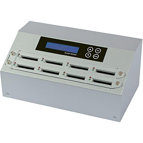 U-Reach Data Solutions CF908S Silver Standard Intelligent 1-7 Target Compact Flash Memory Duplicator