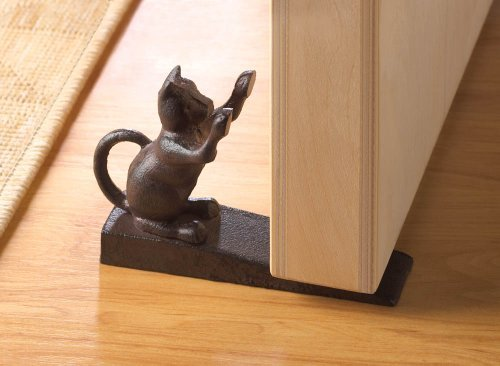 Home Locomotion Cat Scratching Door Stopper by Home Locomotion