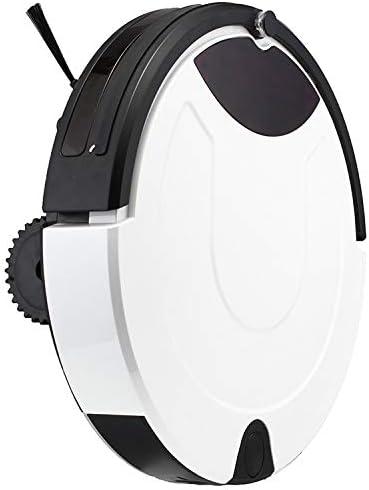 WWTTE TC-650 Intelligent Aspirateur Écran Tactile Ménage Balayer Nettoyage Robot avec télécommande (Noir) H (Color : Gold) White