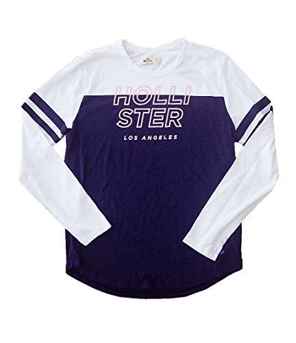 Photo Hollister Women`s Long Sleeve Graphic T-Shirt Small