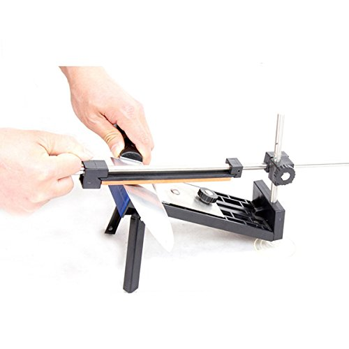 LYEJM Knife Sharpener With Knife Sharpening Stones Blade Sharpening Tools LYEJM by LYEJM (Image #2)
