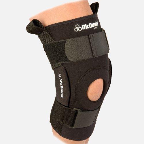 McDavid Pro Stabilizer Hinged Knee Brace Team Package Bla...