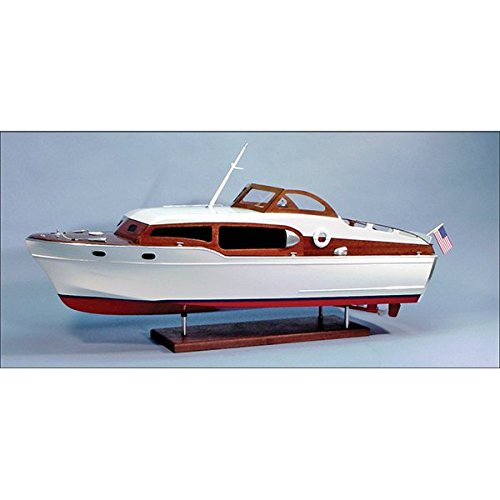 1954 Chris-Craft Commander Express Cruiser Wooden Boat Kit, 1/12 Scale