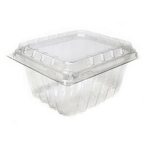 (Clear Plastic Berry/Produce Vented 1 Pint Basket/Container by MT Products - (15 Pieces))