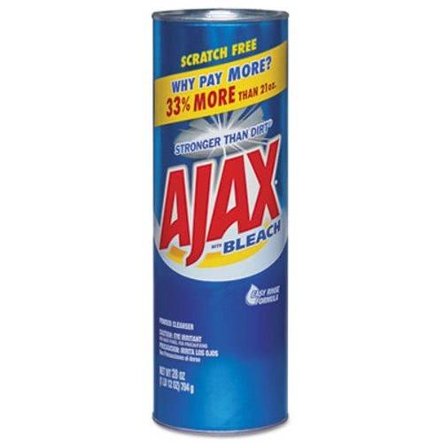 Ajax Powder Cleanser with Bleach, 28 oz Canister, 12/Carton (CPC05374) ()