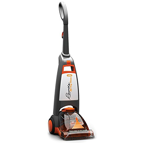 Vax W91RSBA Rapide Spring Clean Carpet Washer, 700 W - Grey/Orange