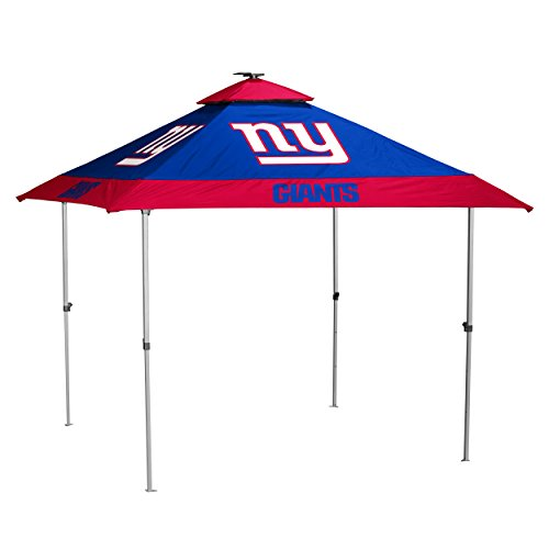 NFL New York Giants Pagoda Tent Pagoda Tent, Navy, One Size