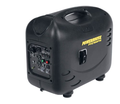 Powerhouse PH2100PRi, 2000 Running Watts/2100 Starting Watts, Gas Powered Portable Inverter, CARB Compliant