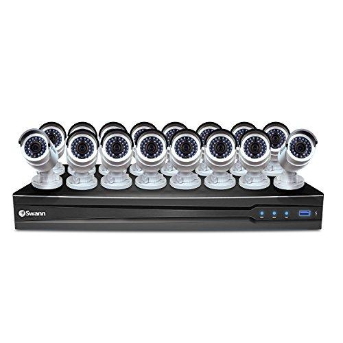 Swann 26-Channel, 16-Camera Wired 4TB DVR Surveillance System CONV24-C3MP16C