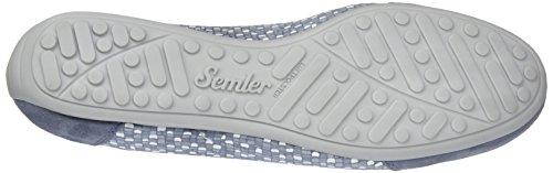 Semler N6106-831, Scarpe da Ginnastica Basse Donna Blu (Aqua)