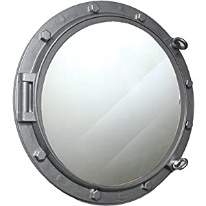 41T0modeIFL._SS300_ 100+ Porthole Themed Mirrors For Nautical Homes For 2020