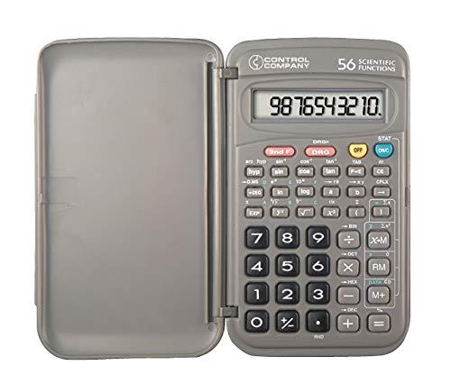 Control Company Scientific Calculator, Portable, 5 In. - 602