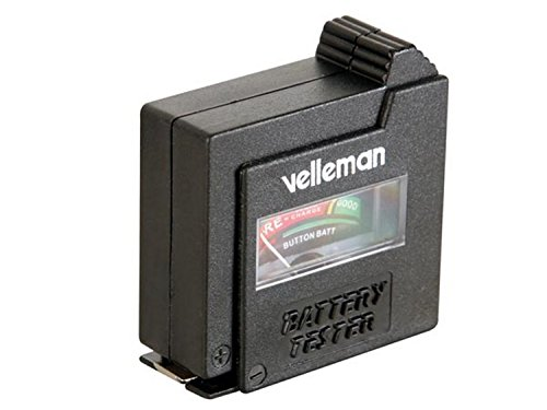 Pocket Battery Tester - Velleman BATTEST Pocket Battery Tester