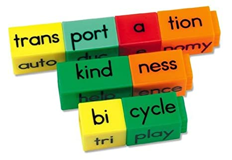 Reading Rods Prefixes and Suffixes Reading Kit