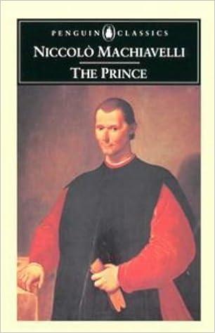 The Prince (Classics) by Niccolo Machiavelli (1961-07-30): Amazon.com: Books