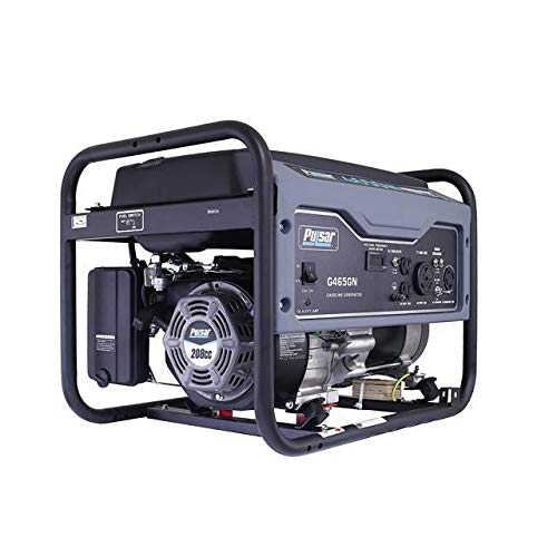 Pulsar G465GN Space Gray 4,650 Watt Portable Gas-Powered Generator