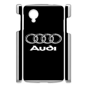 Google Nexus 5 Phone Case White Audi ZCC598839