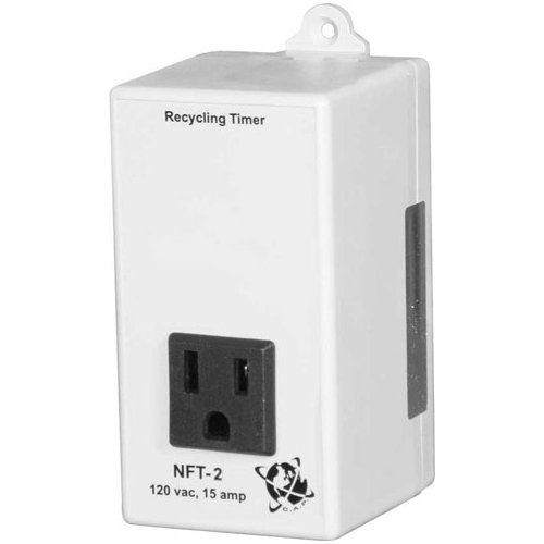 C.A.P. Non-Adjustable Recycling Timer, 3 Minutes on/5 Minutes Off, 15 Amps, 120 Volts