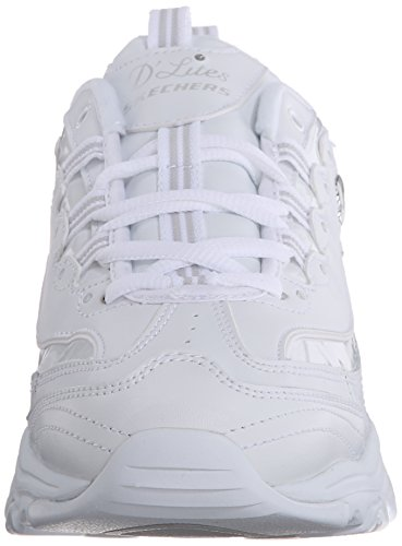 Womens Me Trainers White Bright D'lites Time Skechers Wf4Bq
