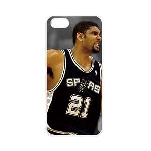 NBA San Antonio Spurs Tim Duncan Case For Samsung Galsxy S3 I9300 Cover PC Soft Black cases for basketball fans Case For Samsung Galsxy S3 I9300 Cover PC Soft s for basketball Spurs fans (White)
