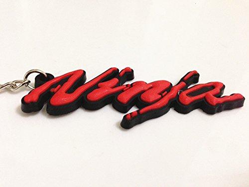 Motor_pro Key Red Chain Key Ring for Kawasaki Ninja All Series Monster New Style