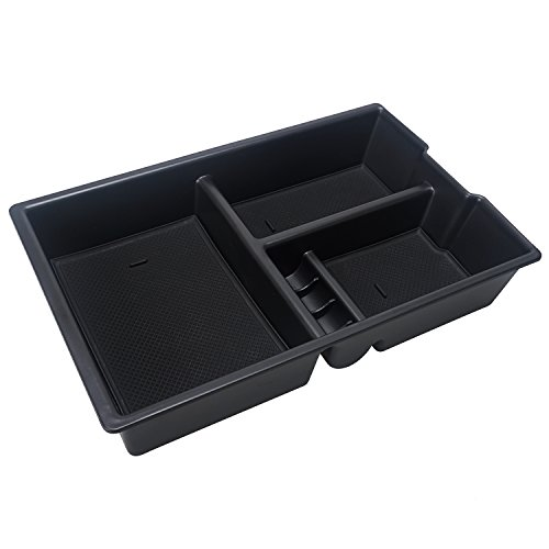 New Car Center Console tray Organizer Insert Armrest secondary Storage Box for 2009-2018 Dodge RAM 1500 2500 3500(Full Console w/Bucket Seats ONLY) hot sale