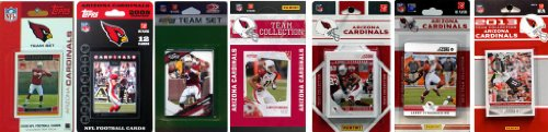 Cardinals Team Arizona Set - NFL Arizona Cardinals 7 Different Licensed Trading Card Team Sets