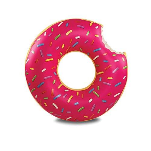 41T0q1Y6SdL. SS500 El donut inflable original: ¡simplemente elige tu favorito! ¿Será fresa o chocolate o ambos? Más de 4 pies de ancho Fácil de limpiar, inflar / desinflar y almacenar