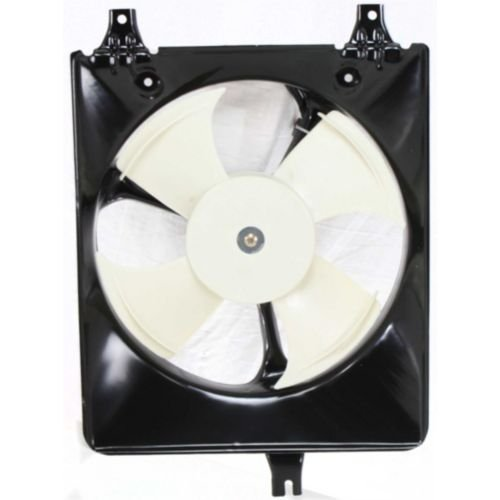 Make Auto Parts Manufacturing - ACCORD 98-02 A/C FAN SHROUD ASSEMBLY, 4 Cyl, Coupe/Sedan - HO3113106 (4 A/c Fan Cyl)