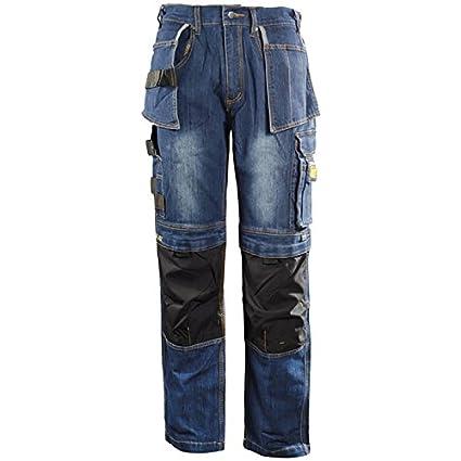dblade trabajo Jeans Multi Pocket, 1 pieza, L, azul vaquero, w180001 8004 10