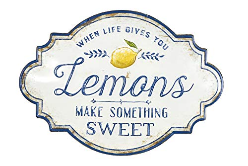 When Life Gives You Lemons Make Something Metal Wall Décor
