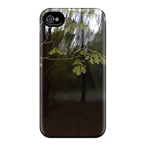 Durable Protector Case Cover With Tree Hot Design For Iphone 4/4s