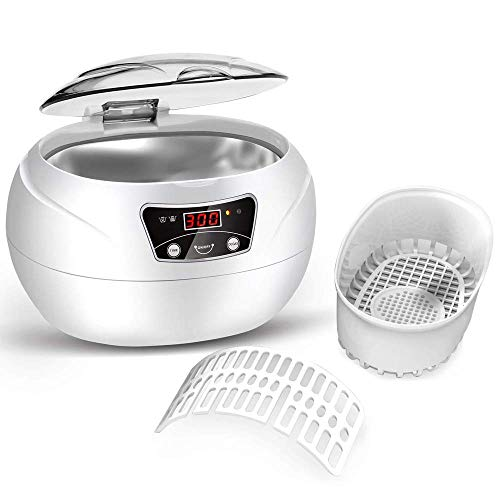 Ultrasonic Cleaner WADEO Professional Ultrasonic Jewelry for sale  Delivered anywhere in Canada